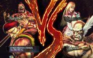 Rolento and zangief vs heihachi and lili