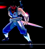 NewStrider hiryu ingame