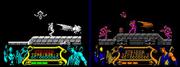 Strider spectrum vs amstrad
