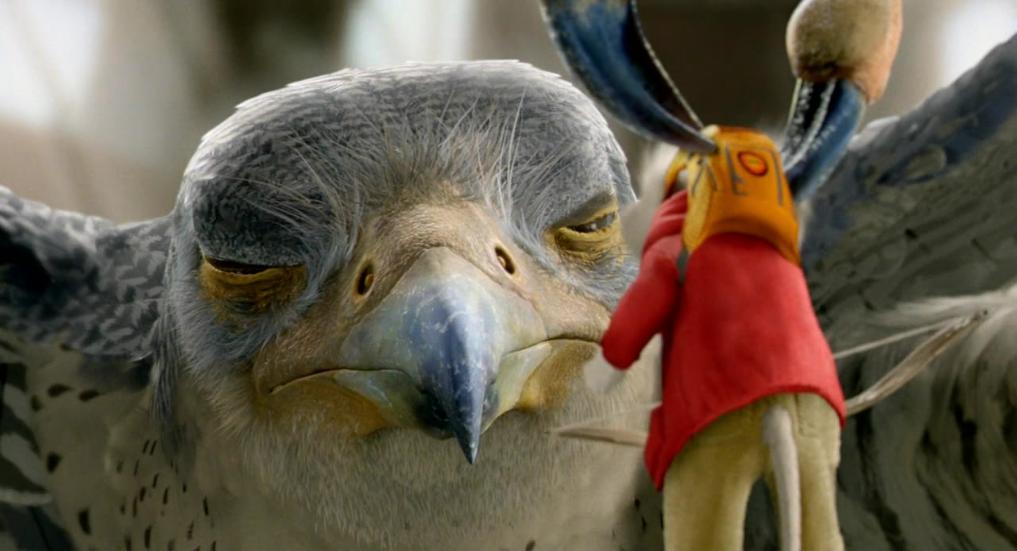 Stuart Little Margalo Stuart Little vs  Falcon