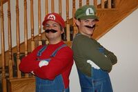 Mario and Luigi Pre-SMB 03