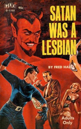 Satanic comic book