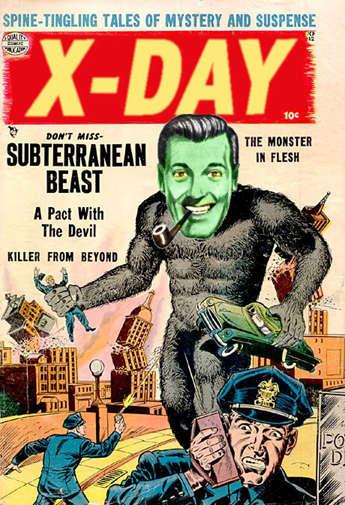 X-Day comic book