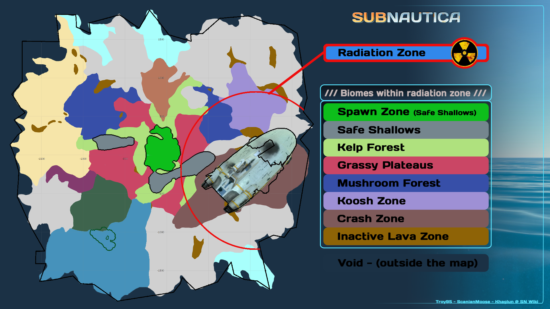 Radiation Subnautica Wiki Fandom Powered By Wikia