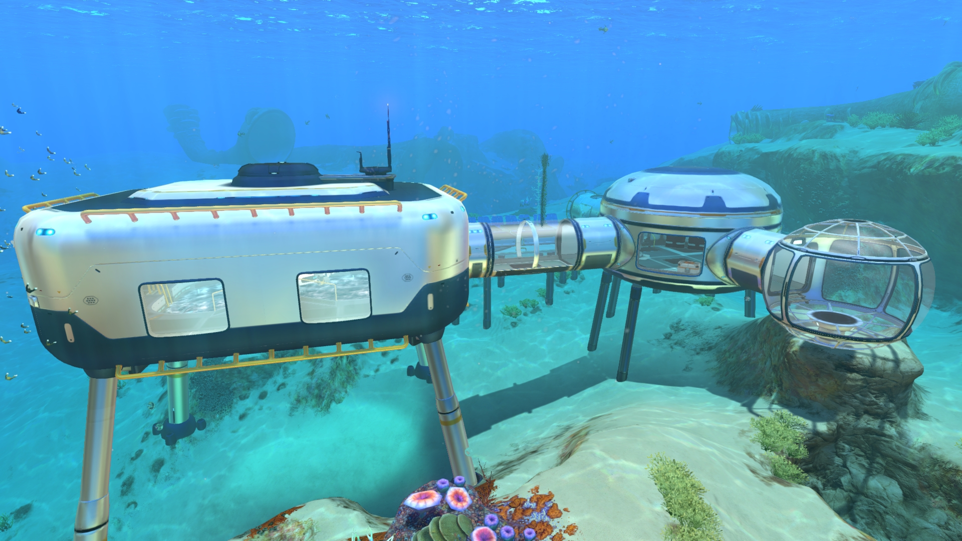 Subnautica building leg reference