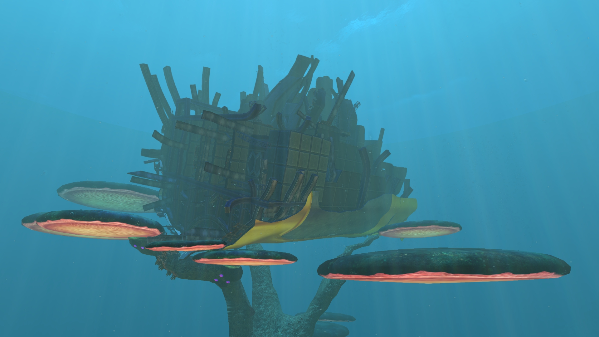 Subnautica Aurora Shipwrecks Locations