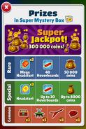 Super Mystery Box Prizes