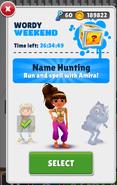NameHunting Amira