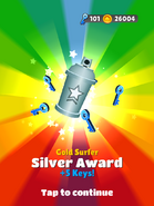AwardSilver-GoldSurfer
