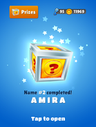 NameHunting AmiraReward
