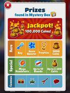 Mystery Box Prizes