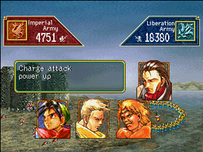 Suikoden I Army Battle