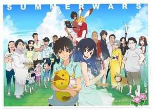 Summer wars lets go!!