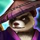 Panda Warrior (Dark) Icon