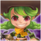 Cow Girl (Wind) Icon