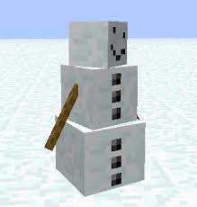 how to make a snow golem in minecraft ps4