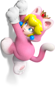 Image - Cat Princess Peach Artwork (alt) - Super Mario 3D ...