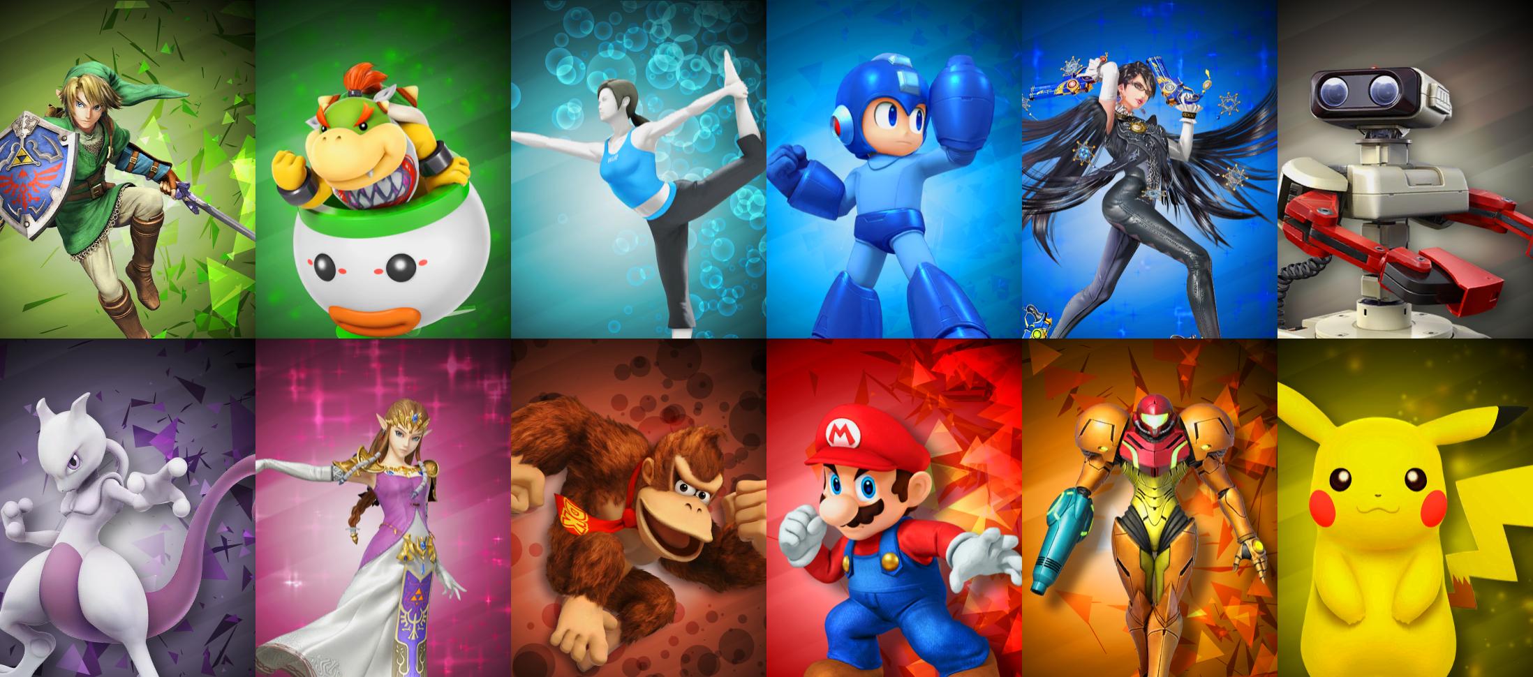 Super Smash Bros Chara