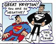 Negative Superman Family Adventures