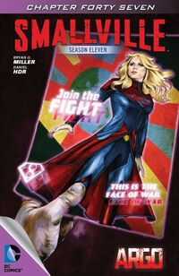 Smallville S11 115 Digital Cover