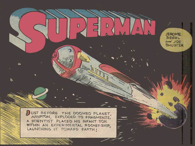 Superman S Biography Pre Crisis Superman Wiki Fandom