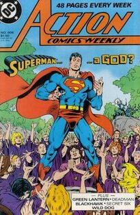 Action Comics Weekly 606