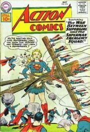 War Between Supergirl