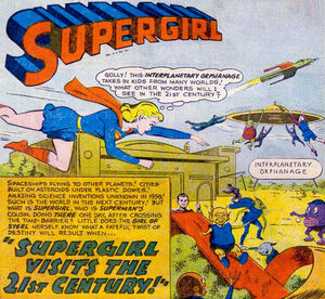 Supergirl Visits the 21st Century