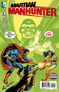 Martian Manhunter 09 Neal Adams variant