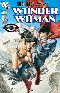 Wonder Woman v2 219
