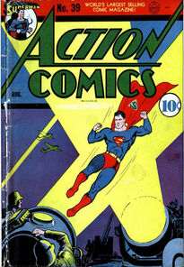 Action Comics Issue 39