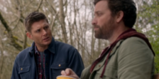 Dean and God at the park (All In The Family)