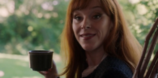 Rowena with a cup of tea (13x03)