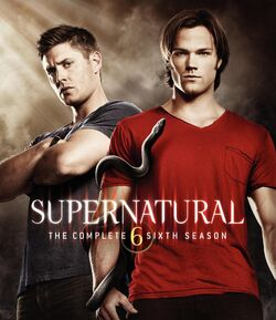 Supernatural Season 6 BRCover