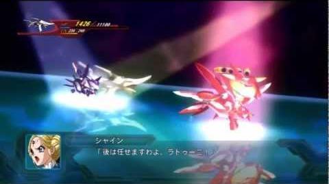 2nd Super Robot Wars OG Fairlion Type-S All Attacks