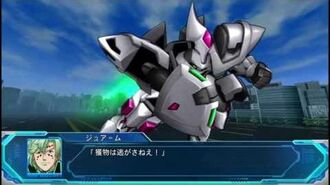 Super Robot Taisen Original Generation Moon Dwellers - Ganjarl & Vorlent Attacks