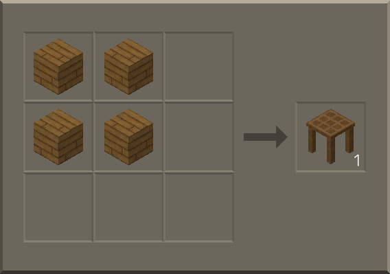 how to make crafting table in survival craft