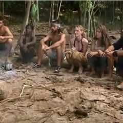 The remaining castaways learn that Bruce is not returning to the game.