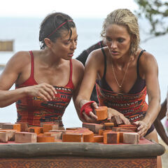 Jennifer and Alecia competing in <a href=