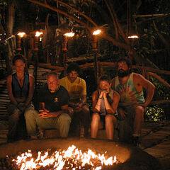 Saboga's second Tribal Council.