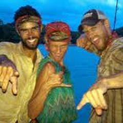 Chase, Holly, and Sash having fun on reward.