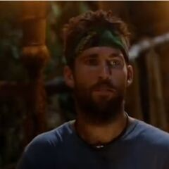 Colby at Tribal Council