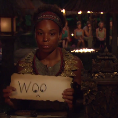 Tasha casts her 8th vote of the season against <a href=