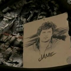 Jamie's drawing at the <a href=