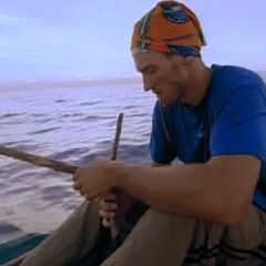 Dirk fishing.