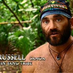 Russell as a member of <a href=