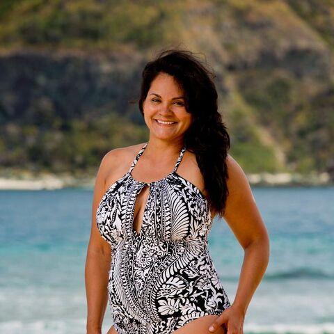 Sandra's alternate promotional photo for <i>Survivor: Game Changers</i>.