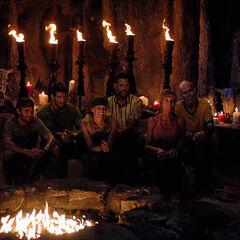 La Mina's second Tribal Council.