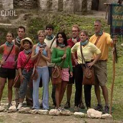 Yaxhá after Stephenie joins the tribe.