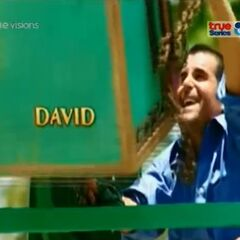 David's first motion shot in the opening.